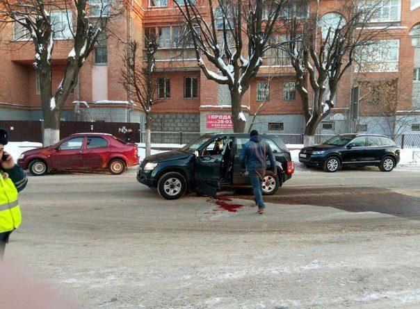 Взрыв в автомобиле в центре Рязани. ВИДЕО происшествия появилось в  сети