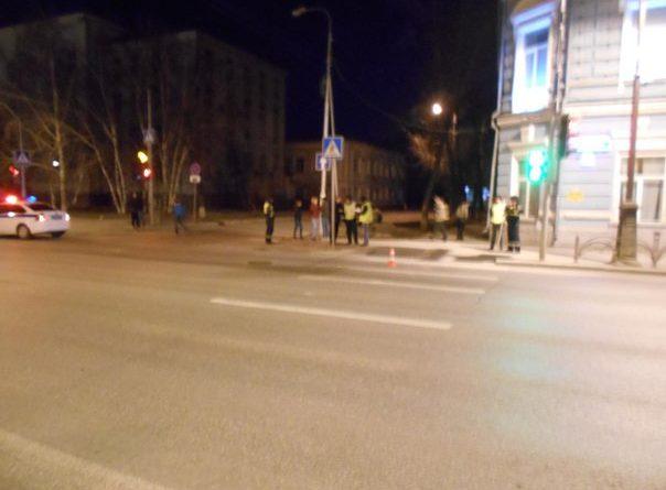 сбили пешехода на Республики в Тюмени