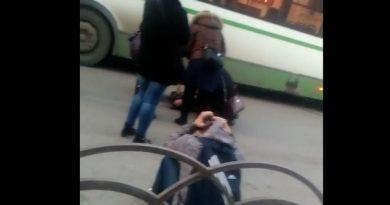 Тюмень ДТП скутер автобус Республики