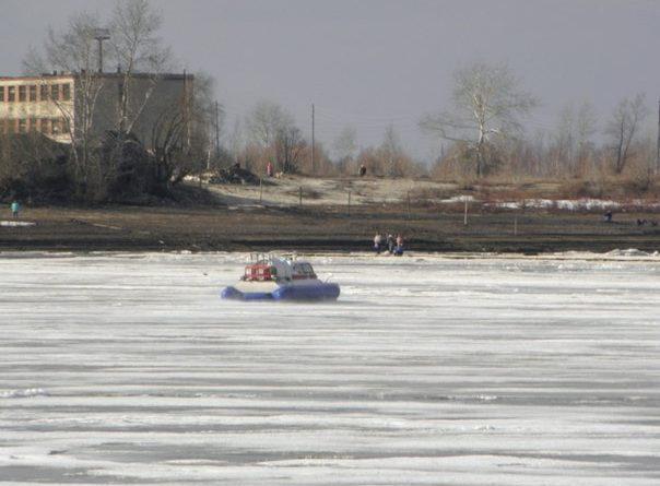 Ледоход Тобольск Иртыш