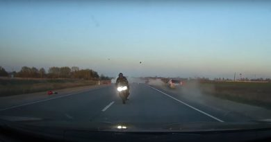 Новое видео ДТП Баратаевка байкеры