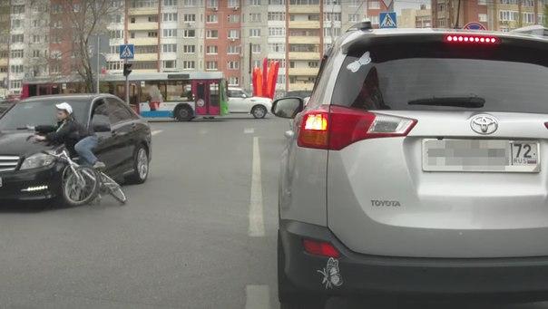 ДТП Ткацкий проезд велосипедист