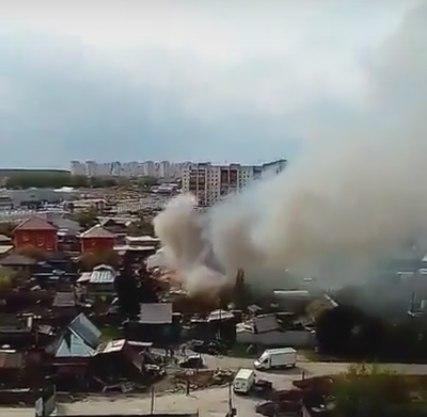пожар Пышминская Тюмень
