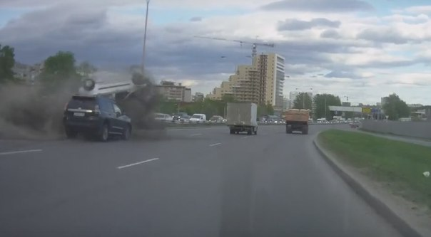 ДТП на объездной в Екатеринбурге
