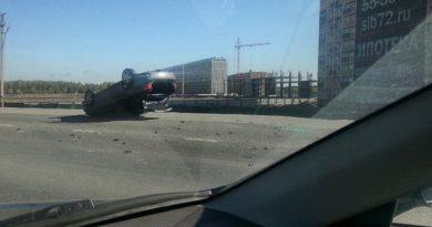 ДТП на объездной в Тюмени