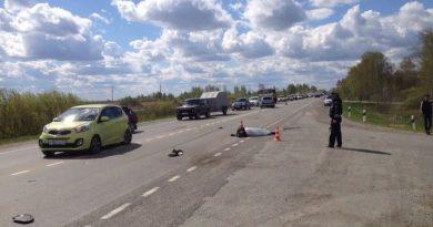 ДТп Велижанский тракт мотоцикл
