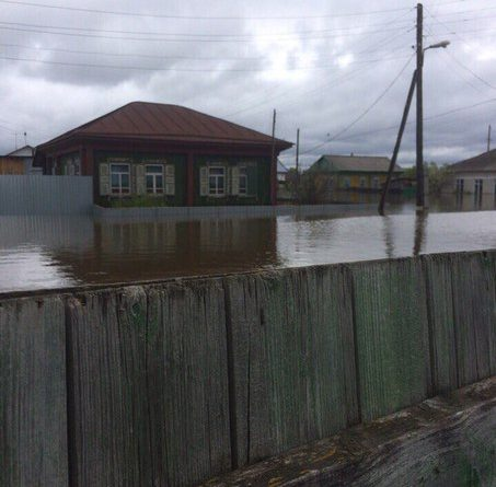 паводок в Тюменской области Викулово