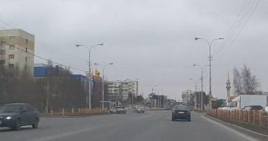 ДТП Сургут набережная Обь
