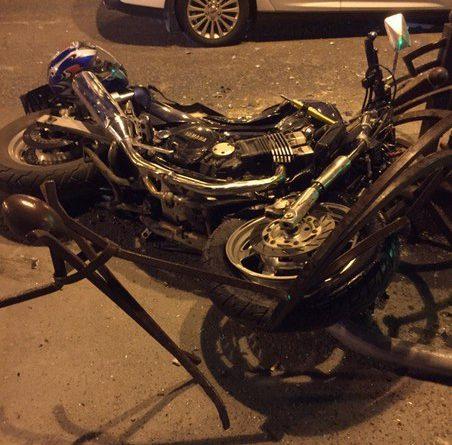 ДТП Республики - Горького мотоциклист