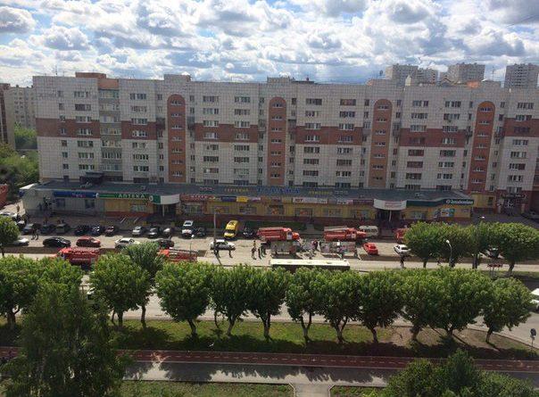 пожар в Туране