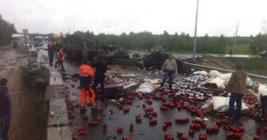 ДТП на трассе Тюмень Тобольск