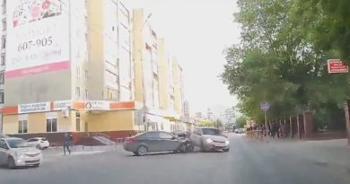 ДТП с такси на Горького