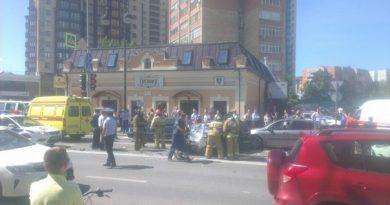 Авария на Первомайской в Тюмени