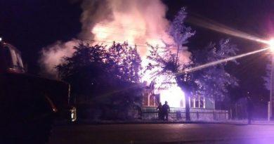 пожар на Саратовской