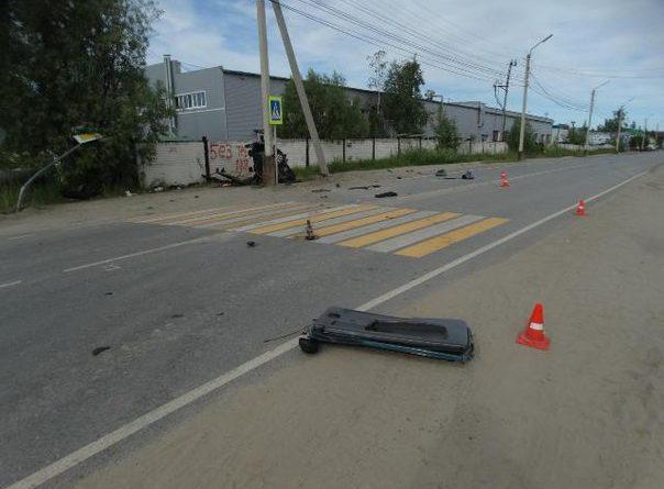 ДТП на Парковой в Нефтеюганске