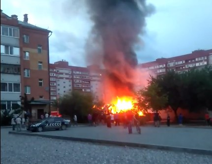 пожар на ММС