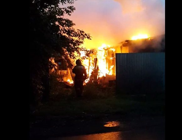 пожар на Хабаровской
