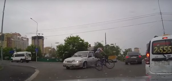 ДТП велосипед Тюмень