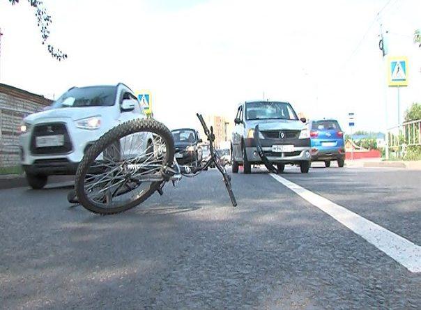 ДТП велосипед Товарное шоссе