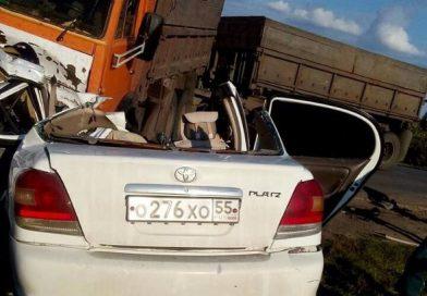 В страшной аварии под Голышманово погибла семья из Омска