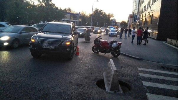 ДТП на Ленина байк