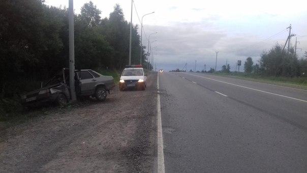 ДТП трасса тюмень обнял столб