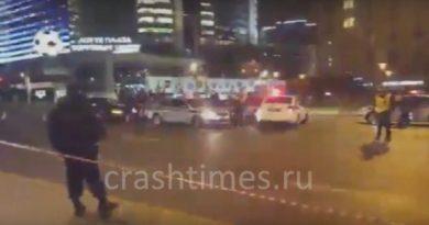 ДТП АМР Мерседес Москва Арбат