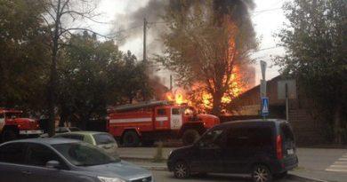 пожар Дом Обороны