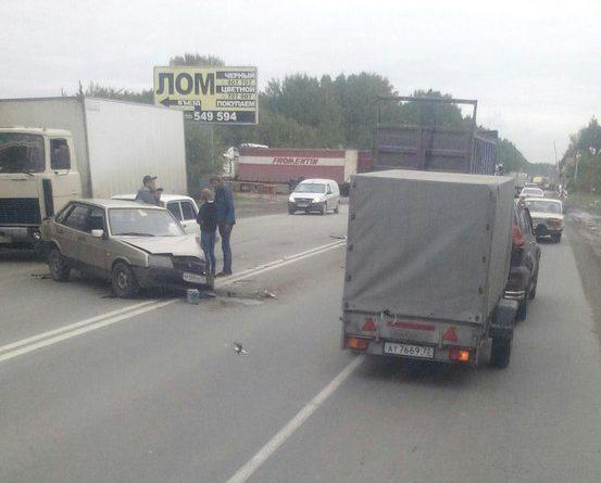 ДТП Ялуторовский тракт