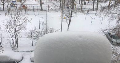 снегопад Тюмень