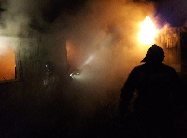 пожар Тюмень