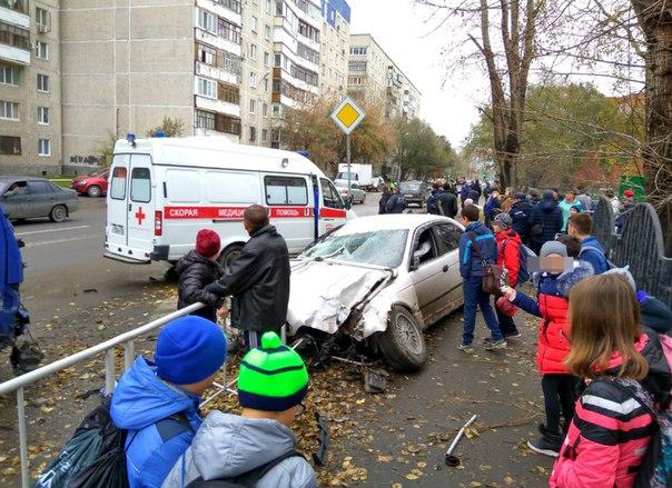 ДТП Харьковская
