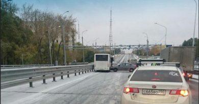 ДТП мост Пермякова