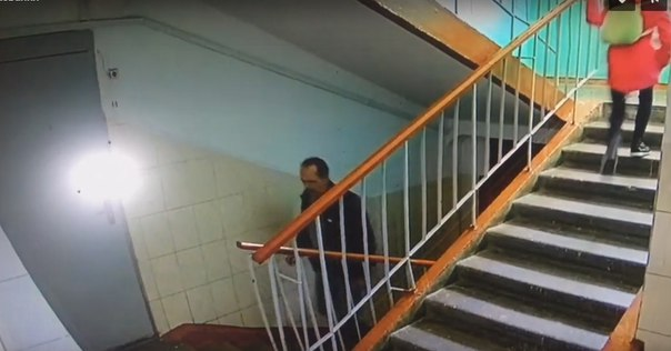 видео из подъезда