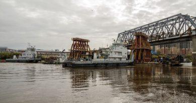демонтаж совмещенного моста