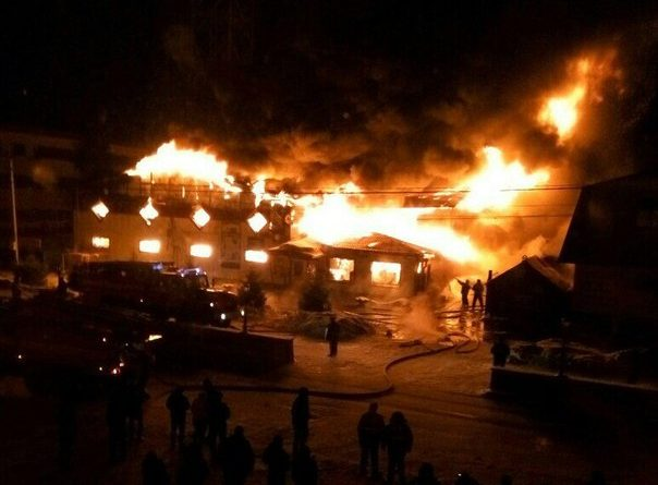 Голышманово Русич пожар