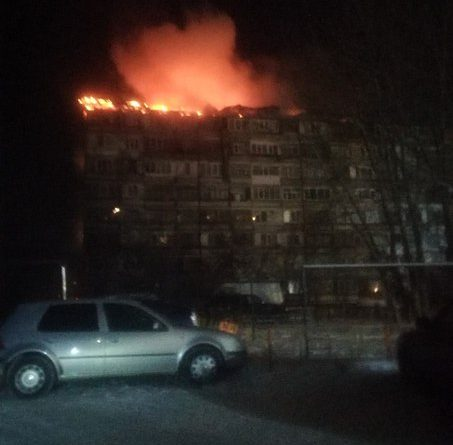 пожар Лесобаза