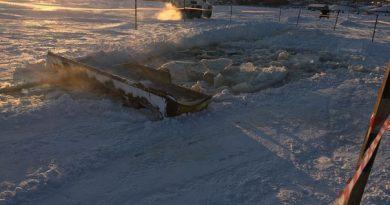 трактор лед