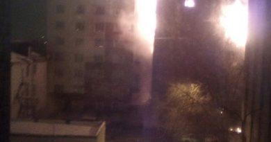 Тюмень пожар Олимпийская