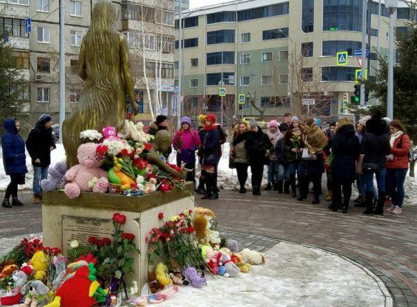 памятник Маме Тюмень