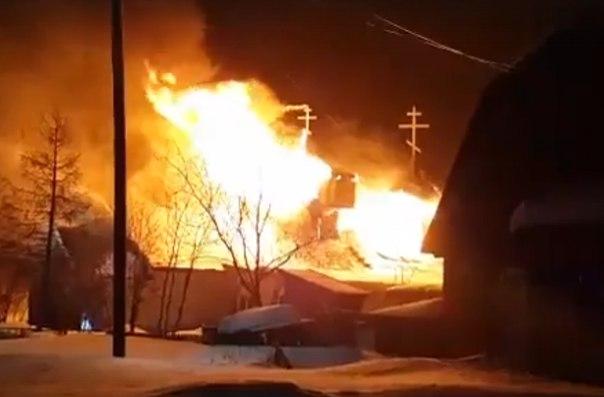 пожар Тарко-Сале