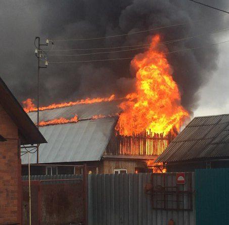 пожар Плеханова