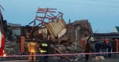 взрыв газа Заводоуковск