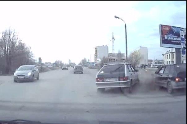 видео ДТП Тобольск