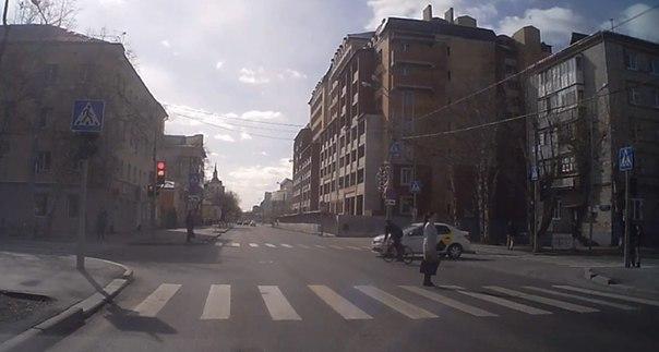 велосипедист Тюмень