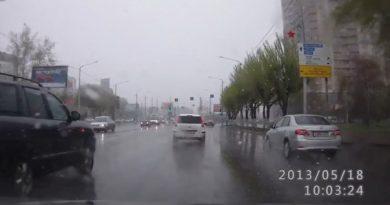 снегопад май