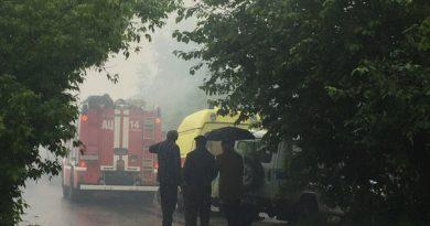 пожар Астраханская