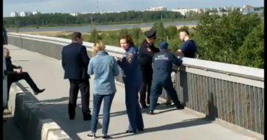 спасения на профсоюзном мосту