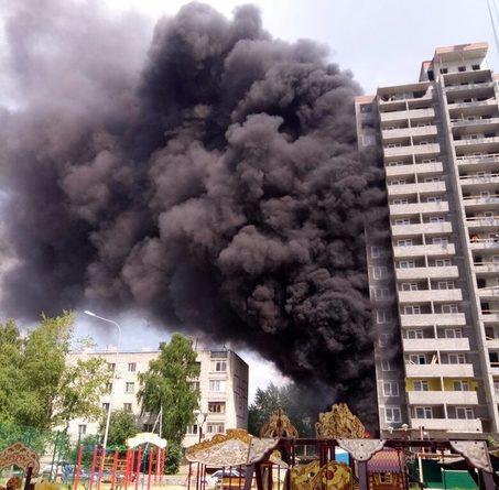пожар ММС