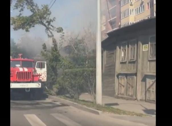 пожар на Запольной